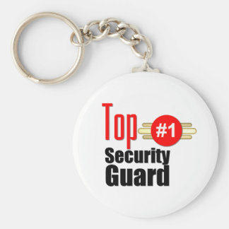 Top Security Guard Keychain
