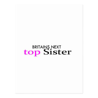 top sister postcard