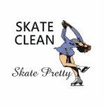TOP Skate Clean Standing Photo Sculpture