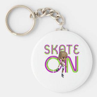 TOP Skate On Keychain