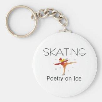 TOP Skating Poetry Keychain