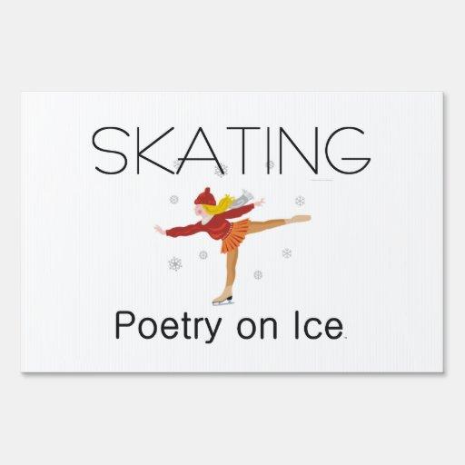 TOP Skating Poetry Sign