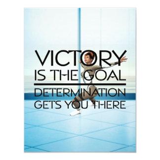 TOP Skating Victory Slogan Card