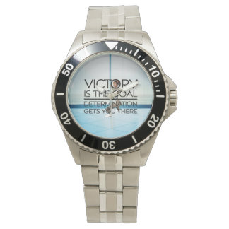 TOP Skating Victory Slogan Wristwatch