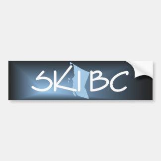TOP Ski British Columbia Bumper Stickers