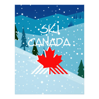 TOP Ski Canada Personalized Flyer