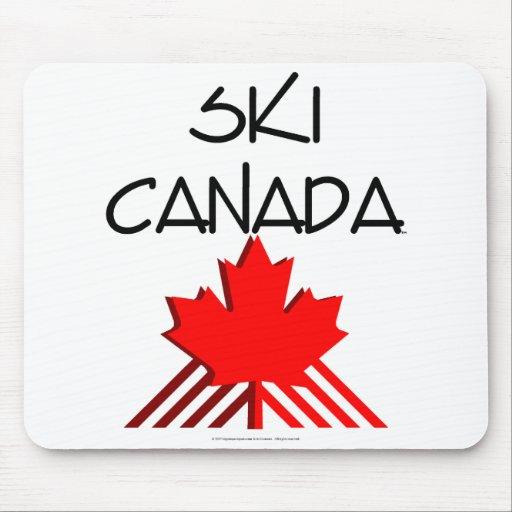 TOP Ski Canada Mouse Mat