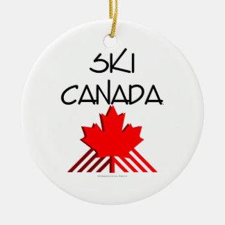 TOP Ski Canada Christmas Tree Ornament