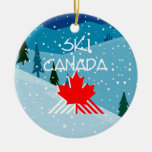 TOP Ski Canada Ornament