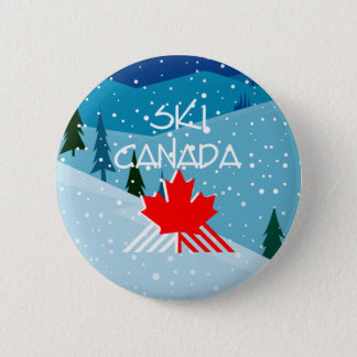 TOP Ski Canada Pinback Button