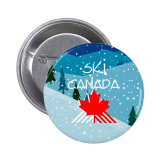 TOP Ski Canada Pinback Button