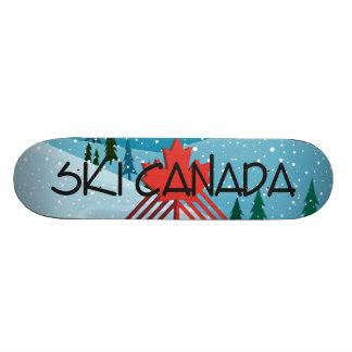TOP Ski Canada Skateboard Deck