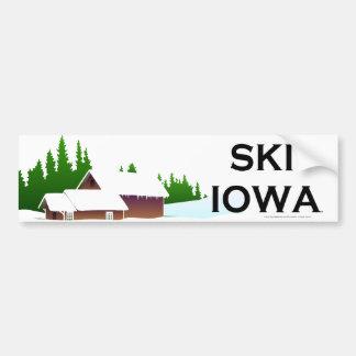 TOP Ski Iowa Bumper Sticker
