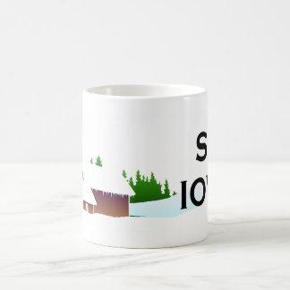 TOP Ski Iowa Coffee Mugs