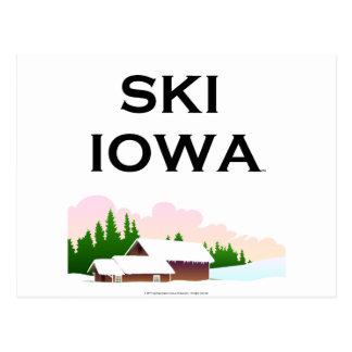 TOP Ski Iowa Postcard