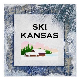 TOP Ski Kansas Poster