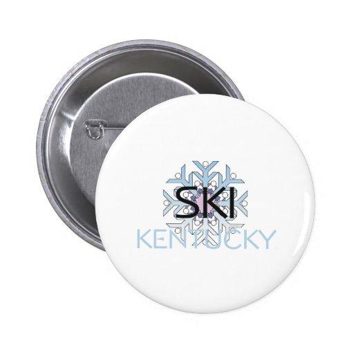 TOP Ski Kentucky 2 Inch Round Button