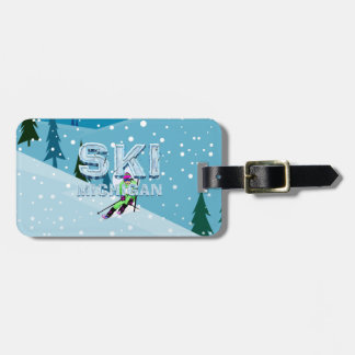 TOP Ski Michigan Bag Tag
