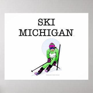 TOP Ski Michigan Poster