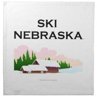 TOP Ski Nebraska Cloth Napkin