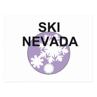 TOP Ski Nevada Postcard