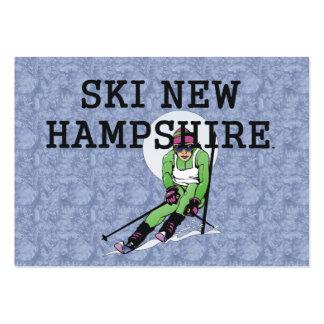 TOP Ski New Hampshire Business Card Templates