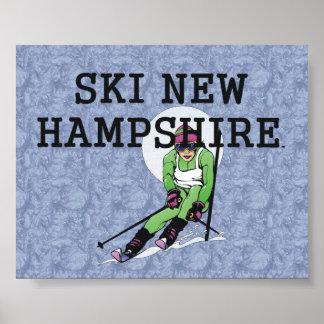 TOP Ski New Hampshire Posters