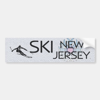 TOP Ski New Jersey Bumper Sticker