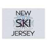 TOP Ski New Jersey Business Card Template