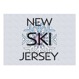 TOP Ski New Jersey Large Business Card