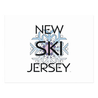 TOP Ski New Jersey Postcard