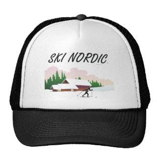 TOP Ski Nordic Trucker Hat