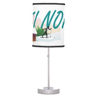 TOP Ski Nordic Table Lamp