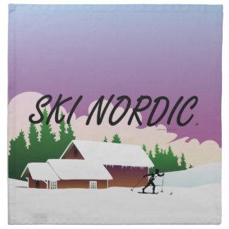 TOP Ski Nordic Napkin