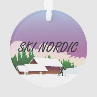 TOP Ski Nordic Ornament