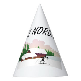 TOP Ski Nordic Party Hat
