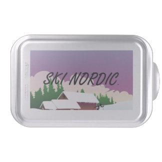 TOP Ski Nordic Cake Pan