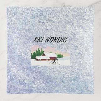 TOP Ski Nordic Trinket Trays