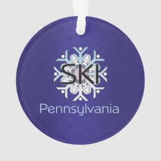 TOP Ski Pennsylvania Ornament