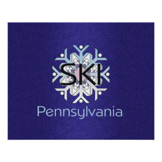 TOP Ski Pennsylvania Poster