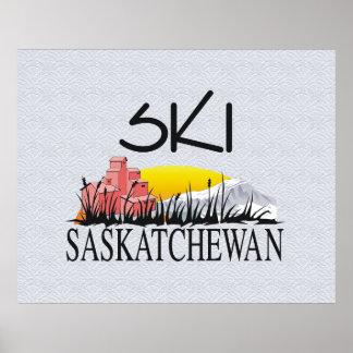 TOP Ski Sasketchewan Poster