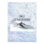 "TOP Ski Tennessee 5"" X 7"" Invitation Card"