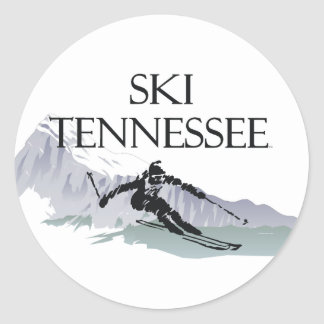 TOP Ski Tennessee Classic Round Sticker