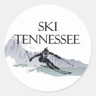 TOP Ski Tennessee Classic Round Sticker