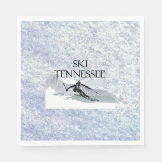 TOP Ski Tennessee Napkin