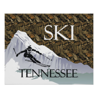 TOP Ski Tennessee Poster