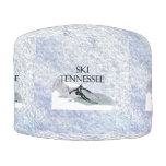 TOP Ski Tennessee Round Pouf