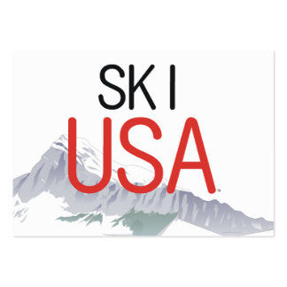 TOP Ski USA Large Business Cards (Pack Of 100)
