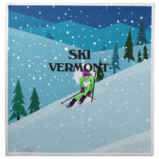 TOP Ski Vermont Napkin