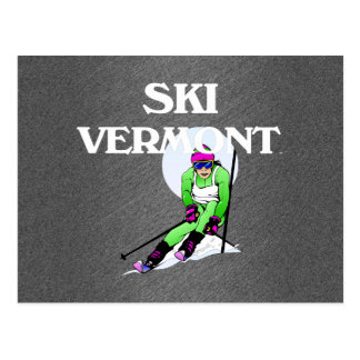 TOP Ski Vermont Post Cards